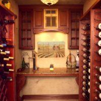 Wine Cellar With Nook