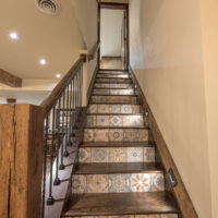Staircase To Finished Basement 1